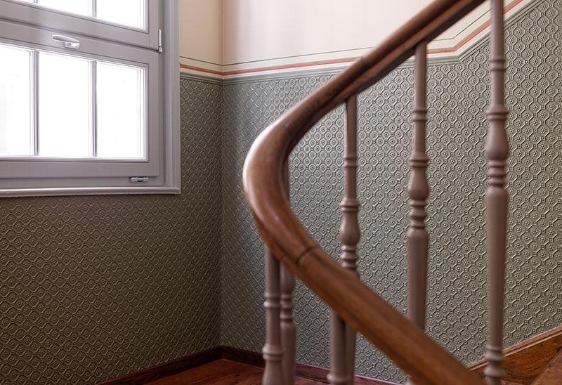 Treppenhaus mehrfamilienhaus gestalten  Leibbrand : Denkmalschutz im Treppenhaus