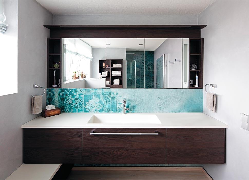 Leibbrand : Tapeten und Putze für Bad und WC